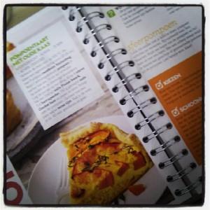 Pompoentaart - uit: 'Gek op groente en fruit' van AH